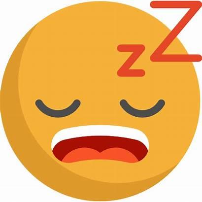 Sleepy Icon Emoticons Emoji Smiley Tired Yawn