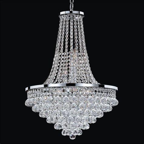 empire style chandelier vista  glow lighting