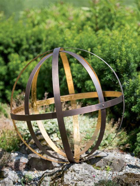 Backyard Metal by Metal Garden Spheres Free Shipping On 75 Orders