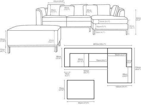 best ideas about standards standard dimensions standards and shaped sofas on