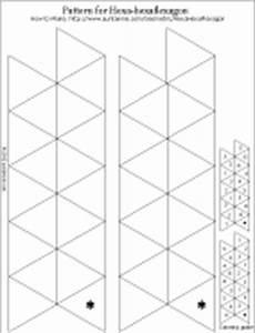 how to make a hexa hexaflexagon geometric toys to make With hexahexaflexagon template