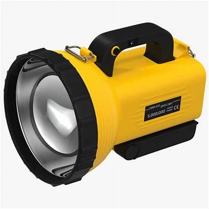 Flashlight Spotlight 3d Turbosquid 3ds Models Cgstudio