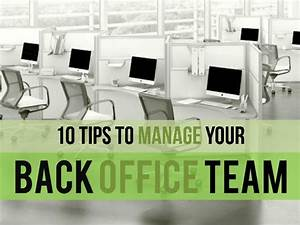 [Back Office Services] 10 Tips to Manage your Back Office Team