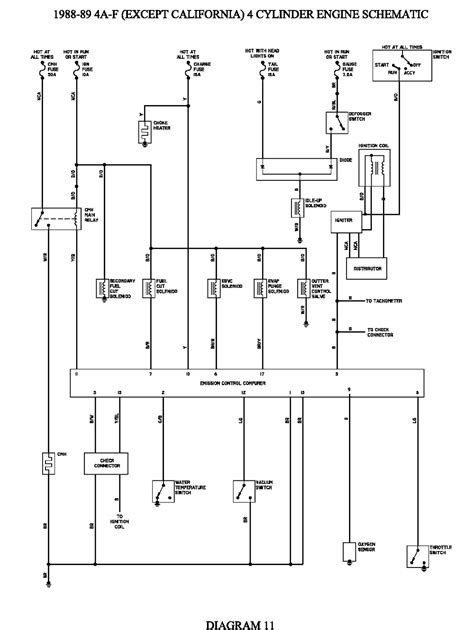 1994 Corolla Wiring Diagram by Wrg 6242 98 Corolla Engine Diagram