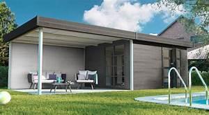 Abri De Jardin Metal Castorama : abri de jardin bois pvc toit plat c t maison ~ Dailycaller-alerts.com Idées de Décoration