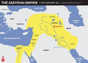 Assyrian Empire map | VISUAL UNIT