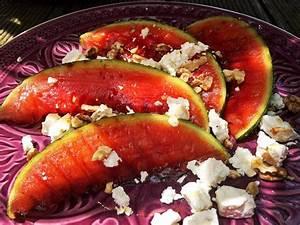 Melone Mit Schafskäse : gegrillte melone darauf eiskalter schafsk se und viele extras ~ Watch28wear.com Haus und Dekorationen