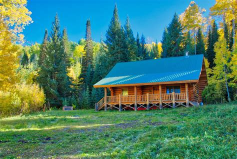 mountain cabins for log cabin for in western colorado with acreage
