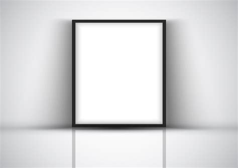 Display background with blank picture frame 1105432 - Download Free Vectors, Clipart Graphics ...
