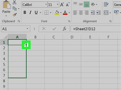 link sheets  excel  steps  pictures