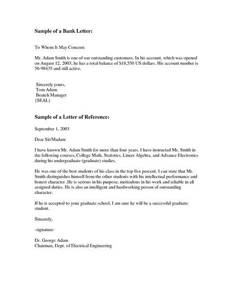 formal letter format     concern template
