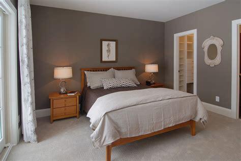 grey walls beige carpet bedroom traditional with coachmen