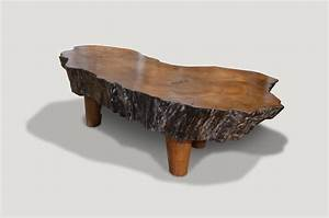 mid century organic teak wood coffee table for sale at 1stdibs With natural wood coffee tables for sale