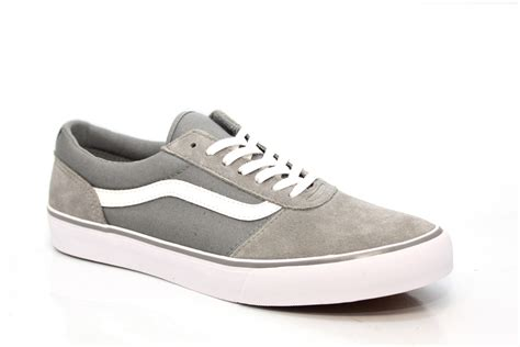 Vans Maddie Suede And Canvas Trainers Grey From £41.59