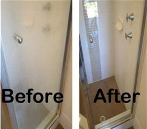 remove water stains from shower glass does your shower glass look like this clearly