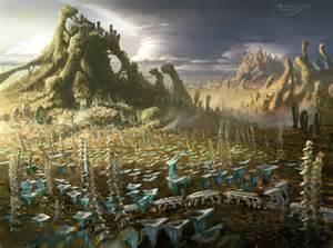 Star Wars Alien Planet Landscape