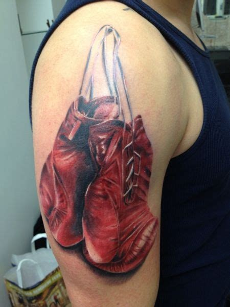 Pin Boxing Gloves Tattoo By Ping S Picture To Pinterest picture | Tattoo | Desenho tattoo e Desenhos