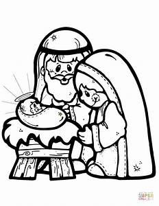 Coloring Pages Nativity Scene Meilleur De 301 Moved ...