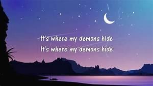 Imagine, Dragons, -, Demons, Lyrics