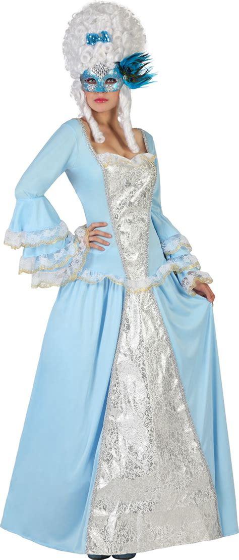 damen kostüm prinzessin blaues barock prinzessin kost 252 m f 252 r damen kost 252 me f 252 r erwachsene und g 252 nstige faschingskost 252 me
