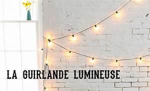 Ikea Guirlande Lumineuse : tendance la guirlande lumineuse mademoiselle claudine le blog ~ Teatrodelosmanantiales.com Idées de Décoration