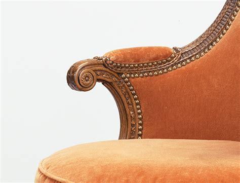marie antoinettes swiveling armchair