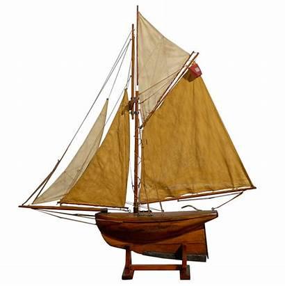 Boat Yacht Sailboat Century 19th Pond 1stdibs