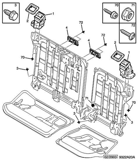 dehousser siege auto comment demonter le systeme de bloquage de siege arriere