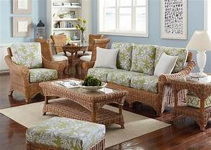 wicker rattan living room furniture With bamboo furniture in living room