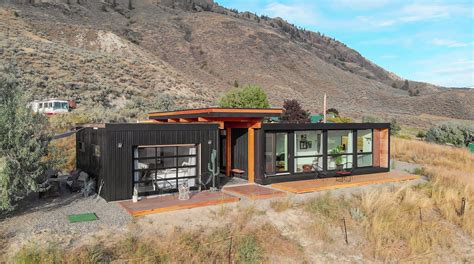 couple living   ultra modern shipping container home