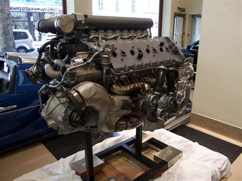 Bugatti Veyron Engine Turbo by Bugatti Veyron W16 Engine And Gearbox At Hr Owen