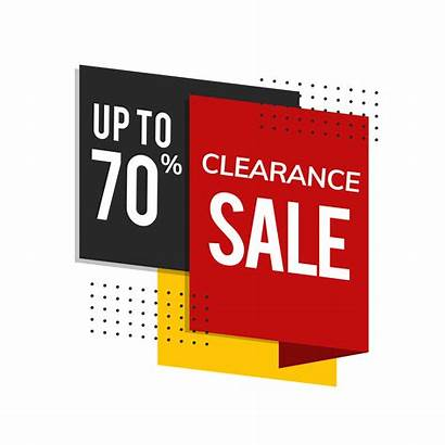 Vector Advertisement Clearance 70 Promotion Clipart System