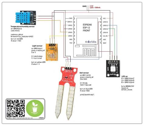 esp8266 adc analog sensors arduino arduino projects and electronics projects