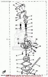 Yamaha Pw50 1986  G  Usa Carburetor