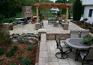 Outdoor Patio Landscaping by Outdoor Patio Designs Mn Landscaping And