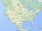 North Dakota In Us Map