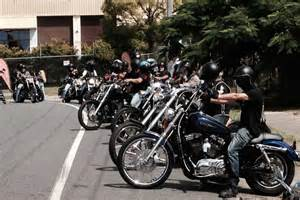 Hells Angels Prepare For Charity Ride