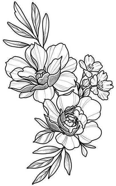 Pin by j torres on Art | Flower tattoos, Tattoos, Floral tattoo design