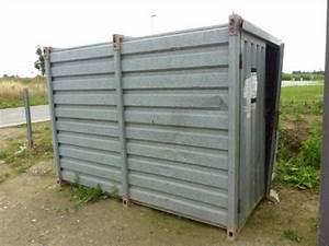 Tole Ondulée Galvanisée Occasion : containers de chantier containers de stockage en france ~ Dailycaller-alerts.com Idées de Décoration