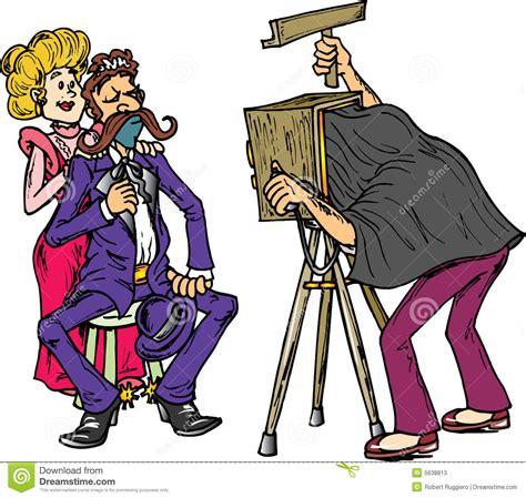 13237 photographer taking a picture clipart de oude fotografie de tijd vector illustratie