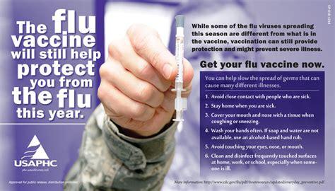 influenza seasonal army public health center