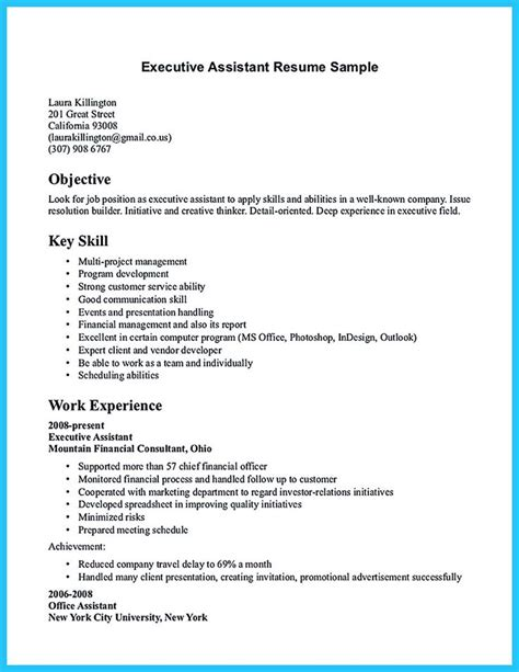 Resume Format For Assistant Manager by As You Are Confused On How To Write Assistant Resume You