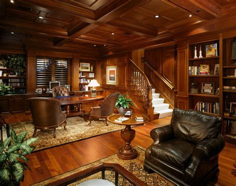 english library home office mediterranean with oriental