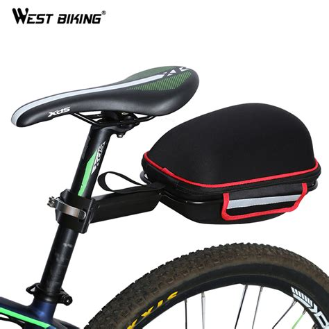 bike waterproofs west biking cycling bag bike rear bag reflective