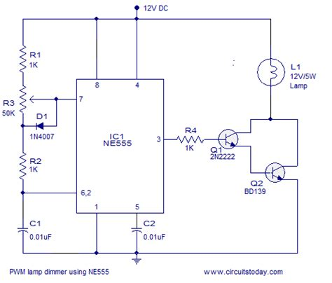 Pwm Astable Multivibrator Voltage Spikes