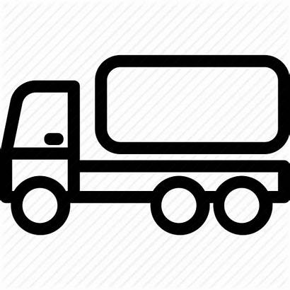 Tanker Water Clipart Truck Icon Fuel Tank