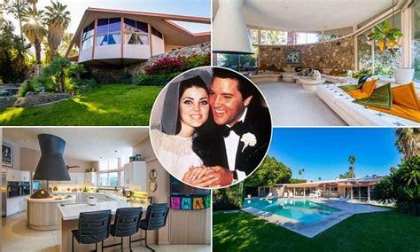 elvis  priscilla presleys palm springs honeymoon home