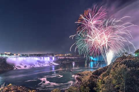 niagara falls fireworks besocial event management inc