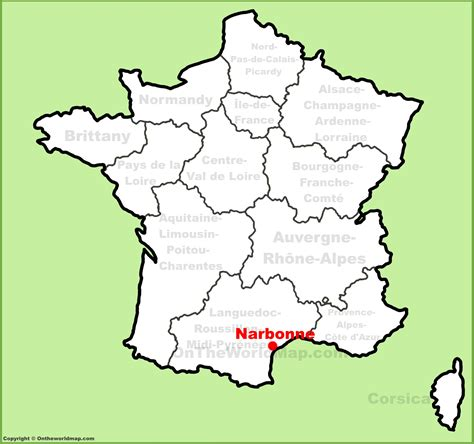 Schow And Nerbonne by Narbonne Location On The Map