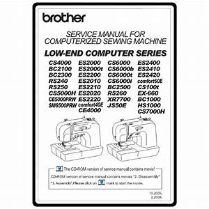 Service Manual  Brother Hs1000   Sewing Parts Online